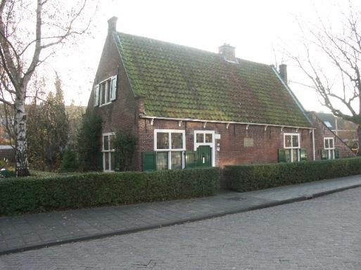 Spinozan talo Rijnsburgissa, lähellä Leidenia. Kuva: Dick van der Kroef.